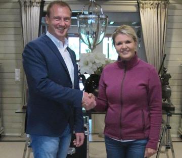 Höveler ist neuer Partner der CS Ranch von Corinna Schumacher