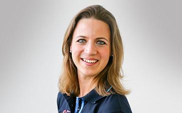Lisa Marholt, Produktmanagerin Pferd.