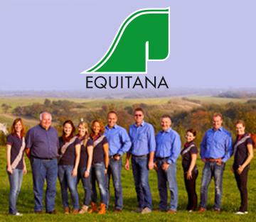 Unterstützung auf der Equitana